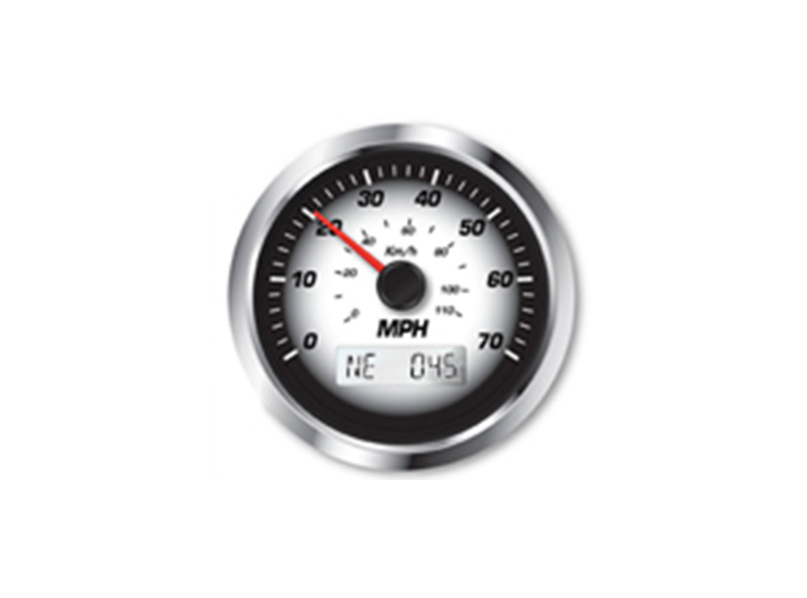 GPS Enabled Speedometer - 70mph