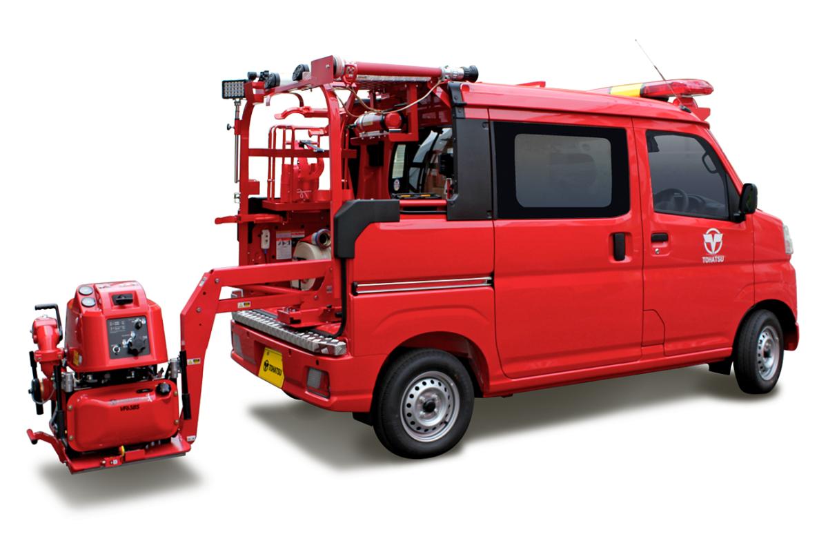 軽4WD小型消防車