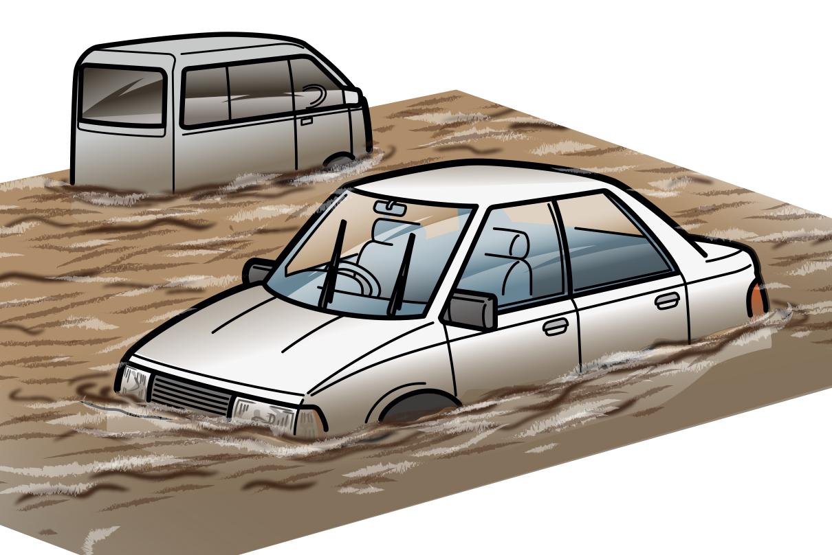 水被害に備える。